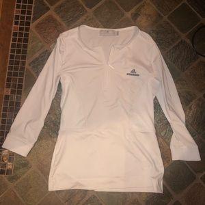 stella mccartney adidas long sleeve quarter zip